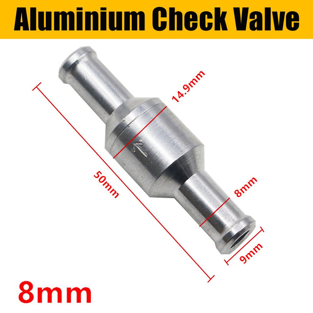 "NON RETURN 6MM 1//4/"" CHECK ONE WAY VALVE ROLLOVER BREATHER"