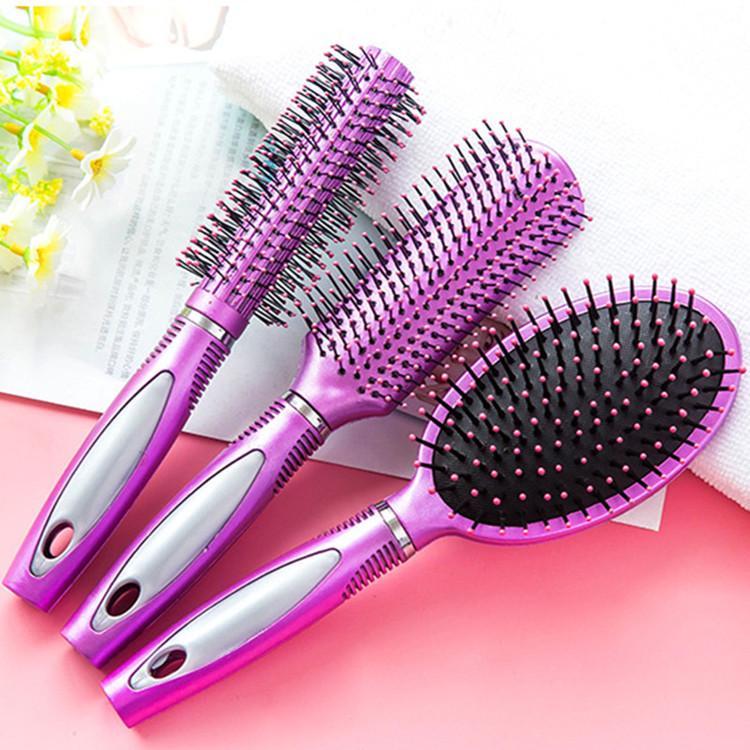 1шт антистатические пластиковые вьющиеся волосы гребнем Парикмахерские кондиционера женщин красоты инструменты-макияж фото