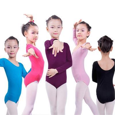 cbc15a25f Girls Camisole Gymnastics Leotard Toddler Kid Child Long Sleeve ...
