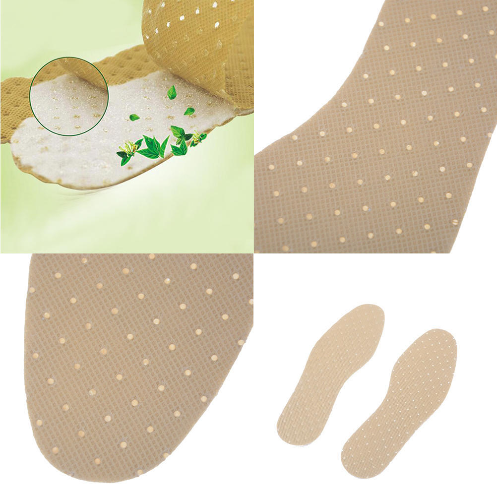 1Pair Peppermint odor Insoles Outdoor Sporting Sweat absorbent Shoe Insoles HI