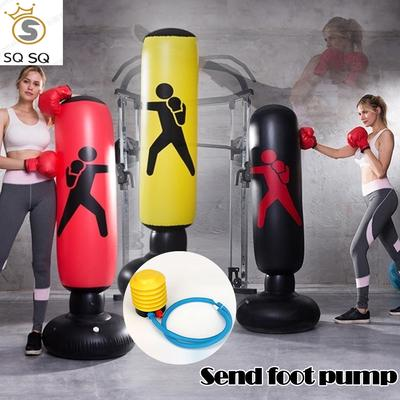 Freestanding Boxing Punching Bag Free Standing Boxing Punch Bag Stand Thickened Fitness Exercise Pressure Reducing Heavy Duty Punch Bag Stand for Adults Children