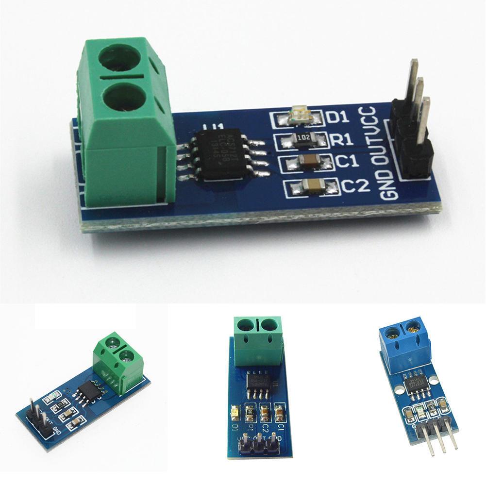 Sensor module 5 20A 30A range current sensor module acs712 for arduino  raspberry pi UNO