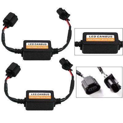 2x H13 LED Headlight Canbus Error Free Anti Flicker Resistor Canceller Decoder