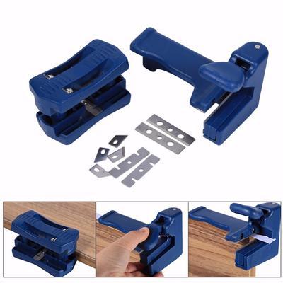 NEW Blue Sheet Edge Banding Aligner Manual Wood Working Hand End Edge Trimmer US