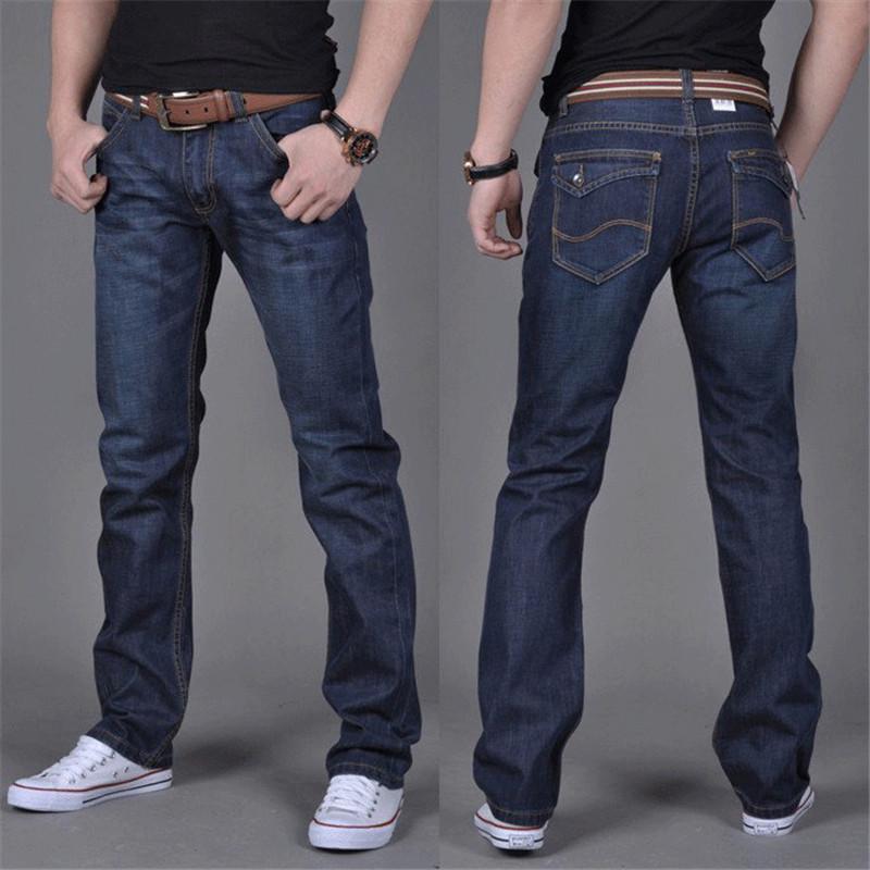 男式牛仔裤修身直筒休闲冬装男装牛仔长裤子厂家裤子批发一件代发