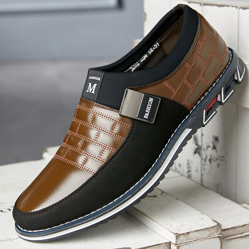 Summer Mens Leather Lace Up Loafers Mesh Driving Breathable Casual Shoes Plus Sz
