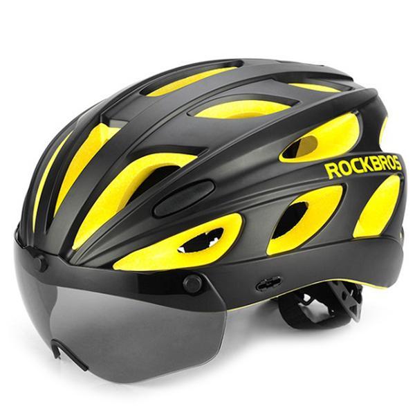 RockBros Cycling Bicycle Bike Safety Helmet Adjustable Commuter Leisure Helmet