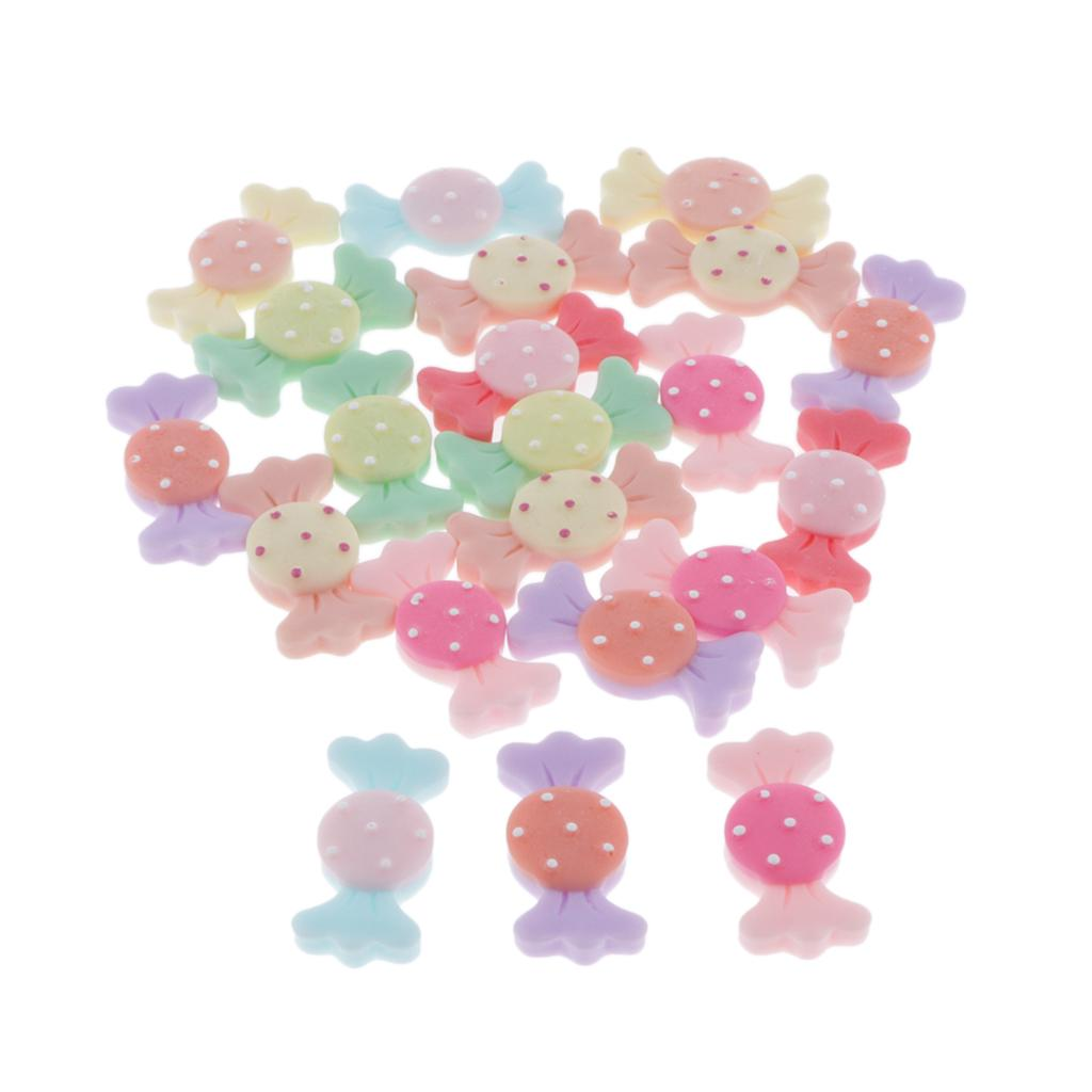 20 Mixed Kawaii Resin Flatback Embellishments Crafts Jewelry Resin Accessory