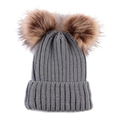 brand new f6be0 dfac5 Новорожденных милый мода держать теплые зимние Шапки трикотажные шерсти  Хемминг шляпа