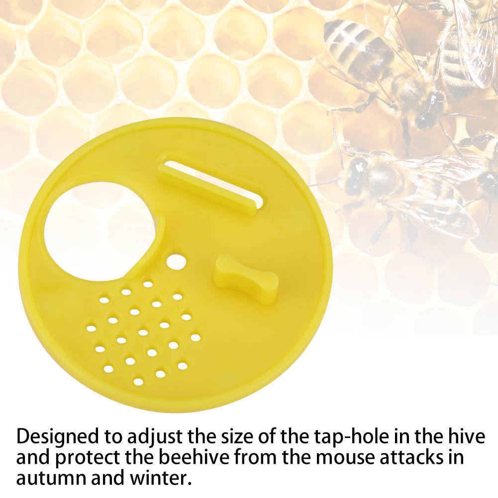 12PC Plastic Beekeeping Bee Hive Nuc Box Entrance Gate Beekeepers Equipment Tool