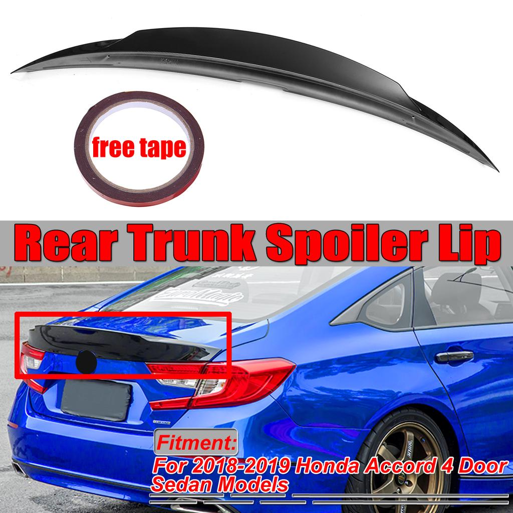 For 2018 2019 Honda Accord 10th 4 Door Sedan Sport Duck Tail Lid Mcx Duckbill Trunk Spoiler Buy At A Low Prices On Joom E Commerce Platform