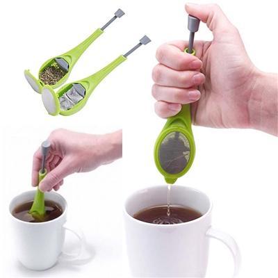 1pcs Tea Strainer Stir Diffuser Measure Swirl Total Tea Infuser