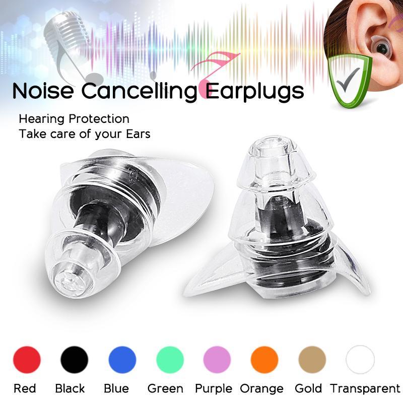 1 Pairs Protector Earplug Sleep Noise Reducer Soft Foam Ear Plug US Seller