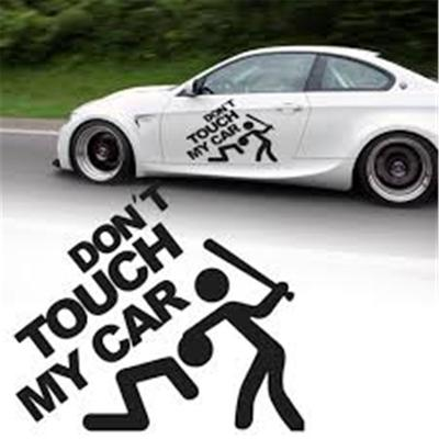 Ftz 136 15x15cm Cartoon Dont Touch My Car Funny Car Sticker Vinyl Decal Cars Truck Window Buy At A Low Prices On Joom E Commerce Platform