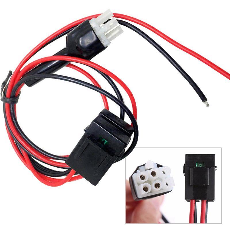 5//10pcs 4pin Connector Plug Radios Accessary Connector Plug for ICOM AT-120