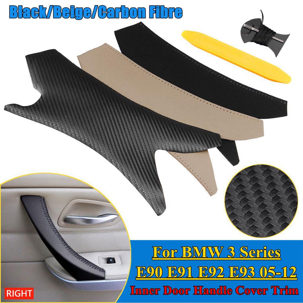 Right Diy Inner Door Handle Cover Trim Hand Sewing For Bmw 3 Series E90 E91 E92 E93 05 12 Buy At A Low Prices On Joom E Commerce Platform