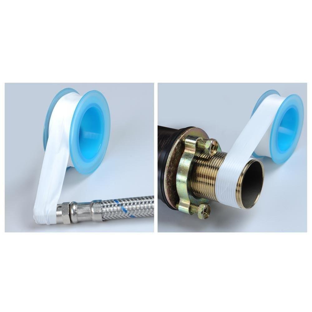 10pcs roll sanitär fitting gewinde dichtung band für wasserleitung