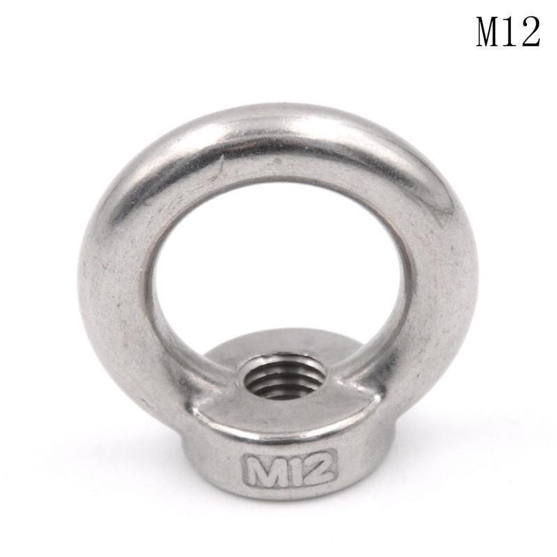 M5 Female Thread Metal Lifting Eye Nuts Ring 4pcs
