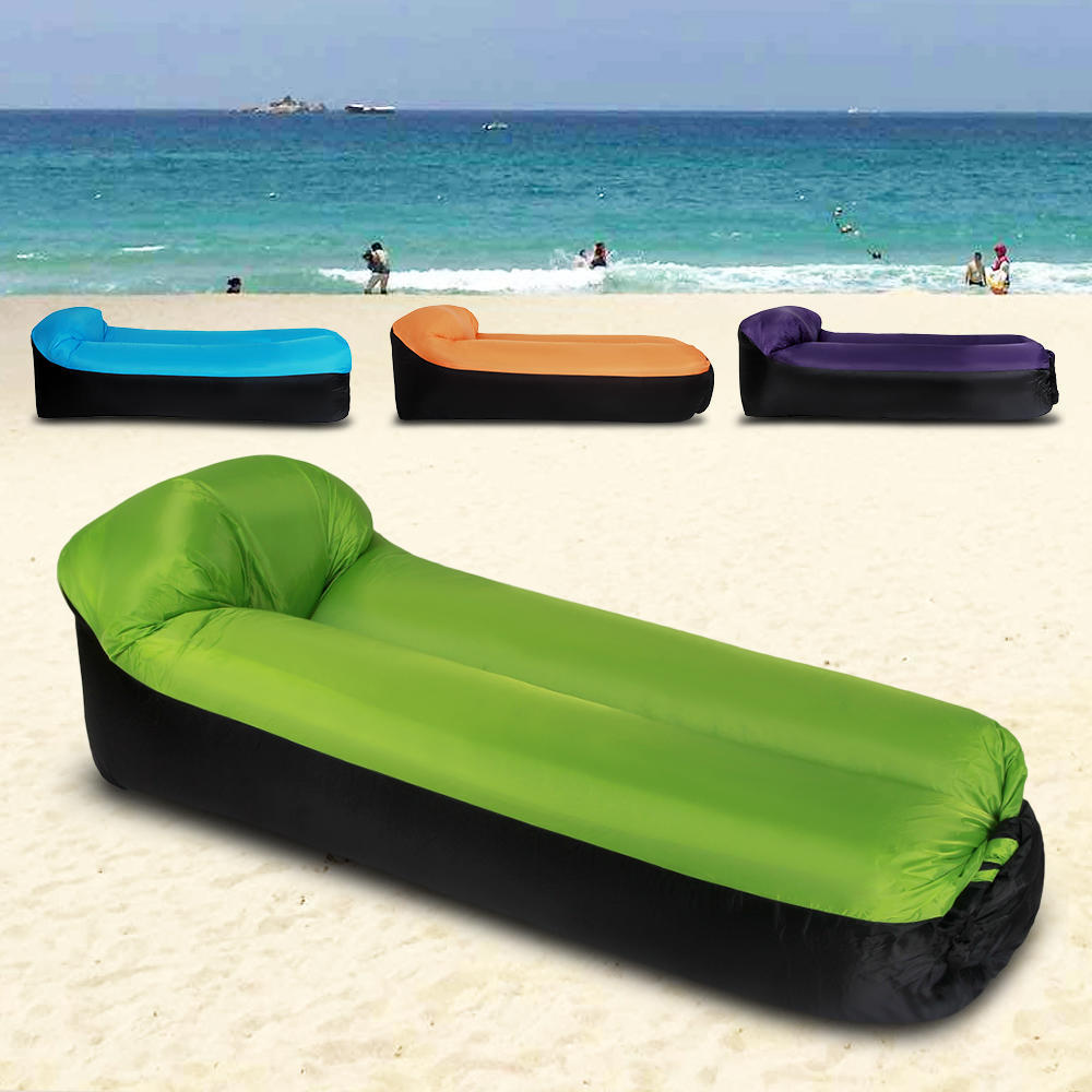 Portable Inflatable Sofa Couch Pillow Sleeping Beds For Outdoor