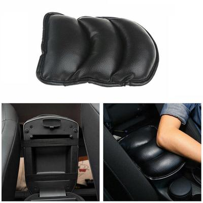 Car Auto Seat Center Console Armrest Cushion Cotton Pillow Arm Support Pad Black