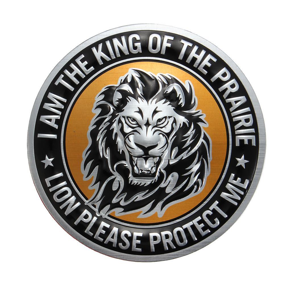 3D Metal Tiger Car Emblem Badge Animal Logo Auto SUV Sticker Decal