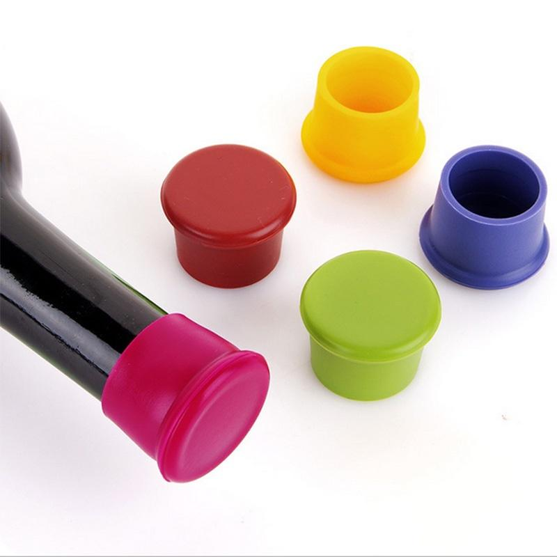 Vacuum Liquor Cover Tools Silicone 1pc Kitchen Stopper Bottle Stoppers Wine Cap
