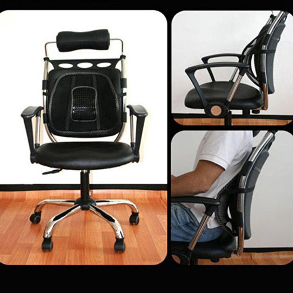Chair Breathable Mesh Backrest Back Lumbar Support Protection for Universal