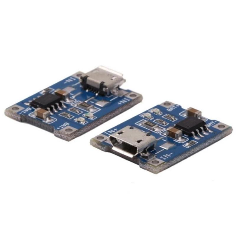 2PCS Step-Up Power Module 5V Converter Lithium Battery Charging Protection MF