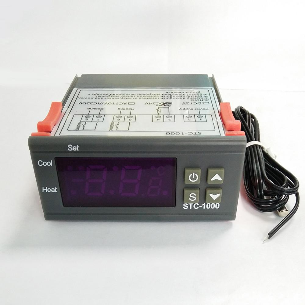 Stc 1000 Digital All Purpose Temperature Controller Thermostat With Wiring Diagram For Controlled 1 Of 7