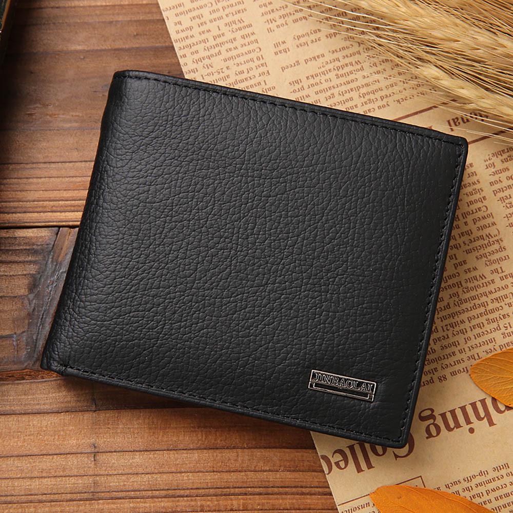 Men/'s Leather Bifold Wallet Coin Purse ID Credit Card Holder Short Money CliRSR1