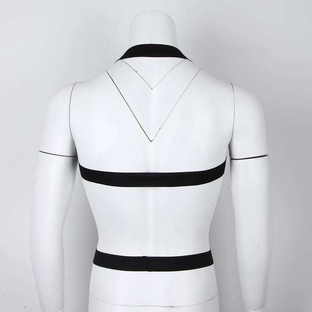 Men Restrain Body Chest Strap Harness Clubwear Gay Costume Belt Nylon Lingerie