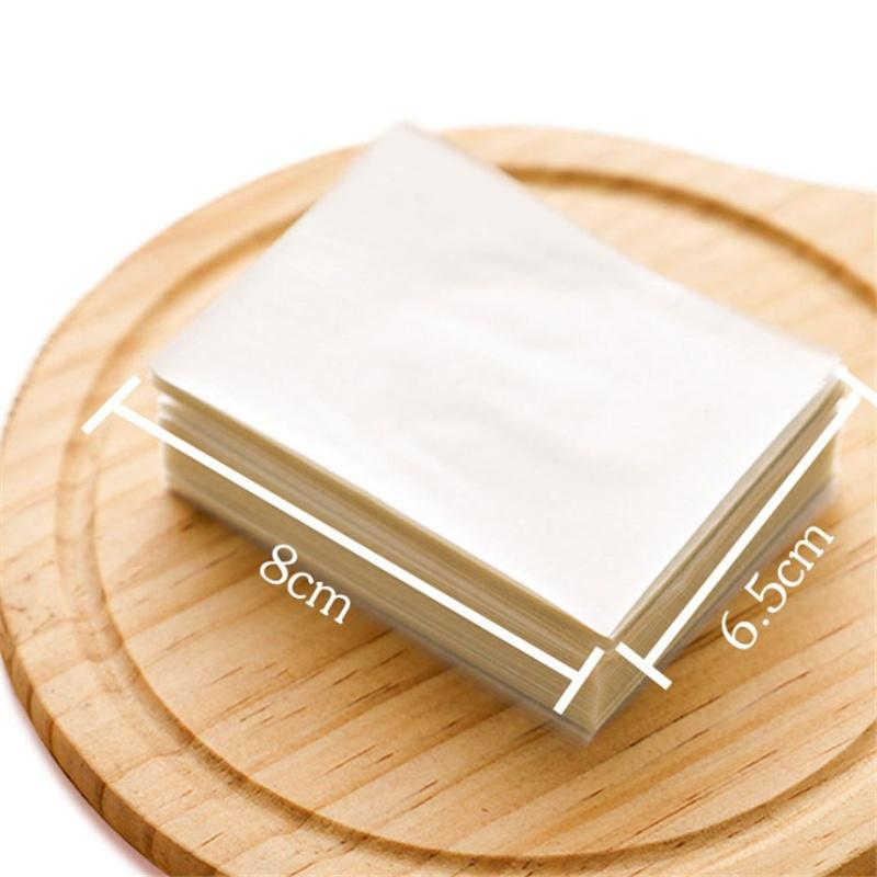 500sheet edible glutinous rice paper xmas wedding candy food sweets wrappingH.Z8