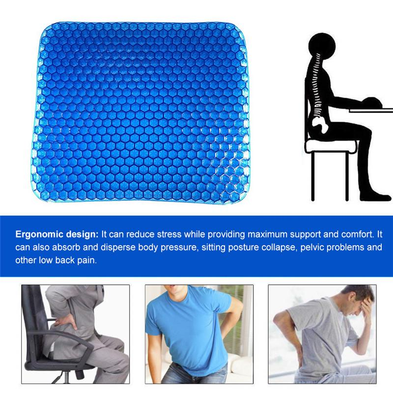 Gel Seat Cushion For Pressure Relief For Car Office Chair Wheelchair Home Buy At A Low Prices On Joom E Commerce Platform