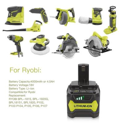 New 18V 5 0Ah Rechargeable Power Tool Battery for Ryobi ONE Plus