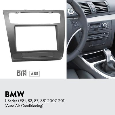 Single DIN Stereo Dash Kit Install for 1997-2006 BMW 5 Series// M5//X5 Non-Nav