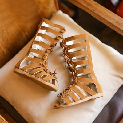 Summer Girls Gladiator Sandals Boots
