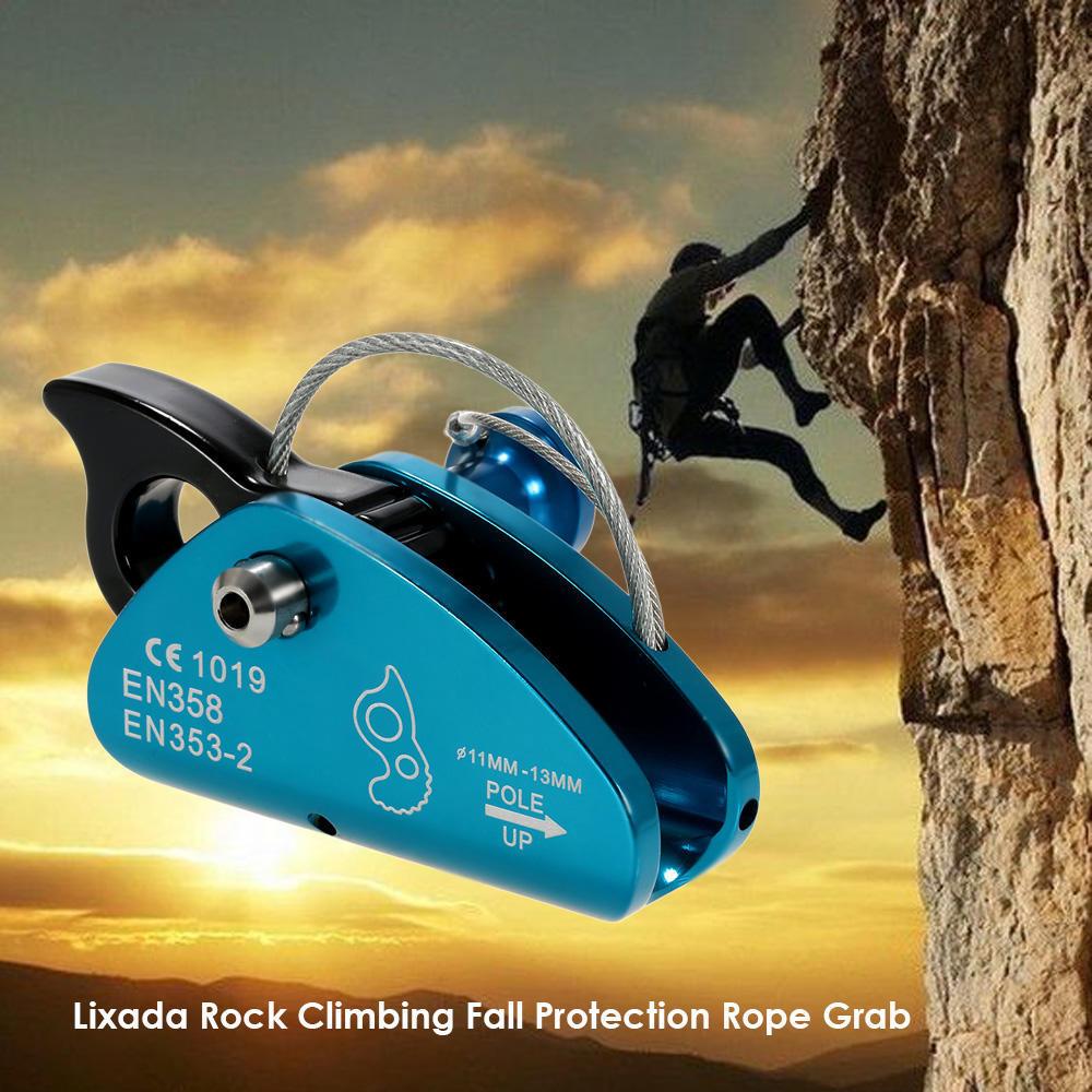 Bergsteigen Klettern Seil Greifen Protecta Sicherheit Absturzsicherung