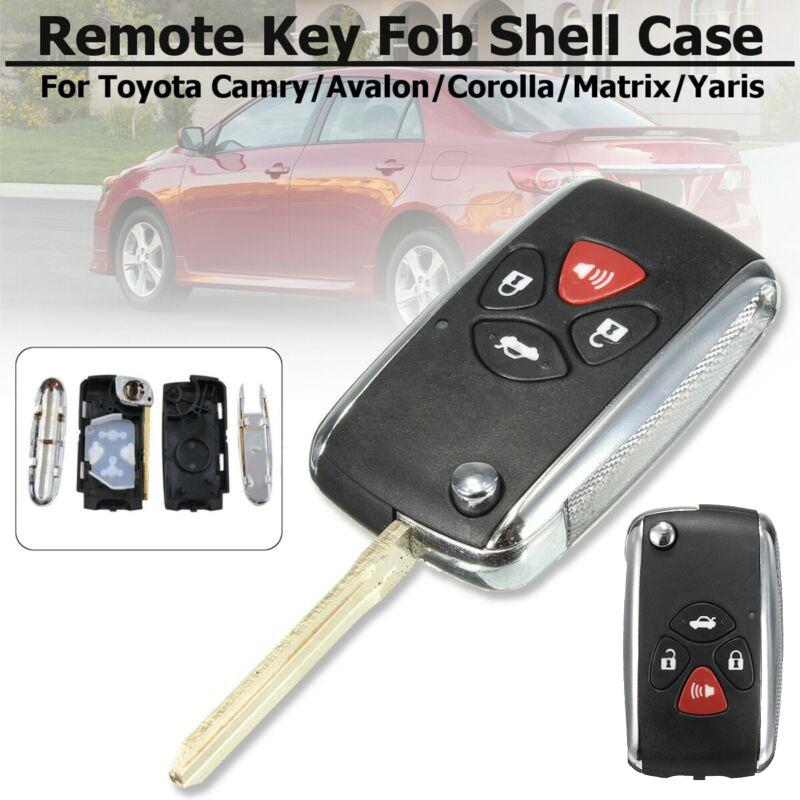 New Key Fob Remote Shell Case For a 2008 Jeep Liberty 4 Button w// Trunk