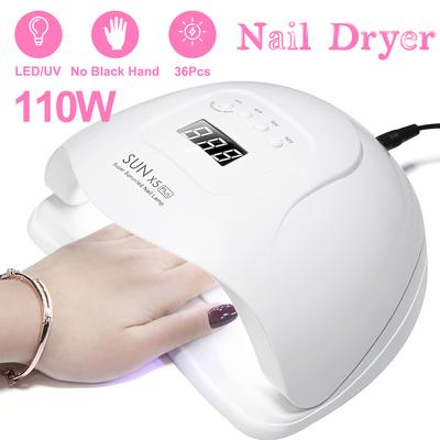 UV Nail Lamp 36W | Gel Nail Dryer | Shellac UV Lamp