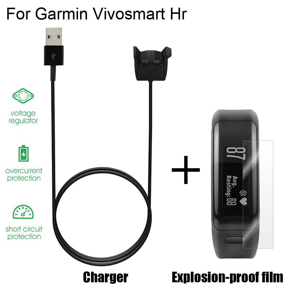 Garmin Charging Data Clip Cable USB Charger for Vivosmart HR HR New