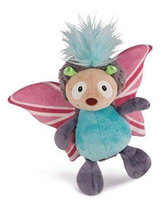 NICI 44932 Cuddly Soft Toy Butterfly 18cm Plush Pink//Multi-Coloured