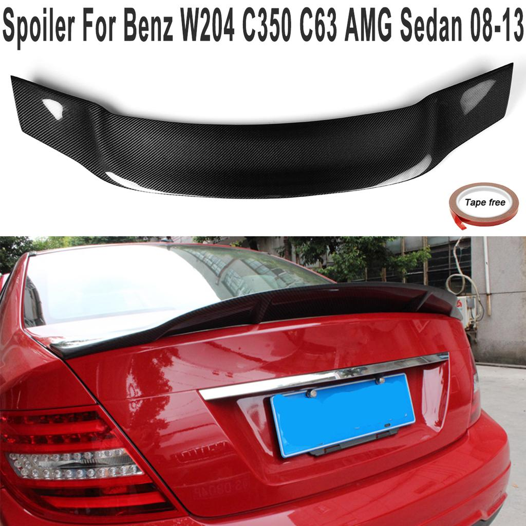 PAINTED MERCEDES BENZ W205  C-class V Type Rear Trunk Spoiler C63 C300 C350 15up