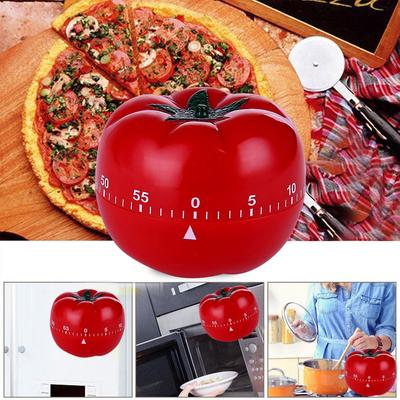 Kitchen Home Cooking Alarm Countdown Clock Cute Tomato Timer Mechanical Timer