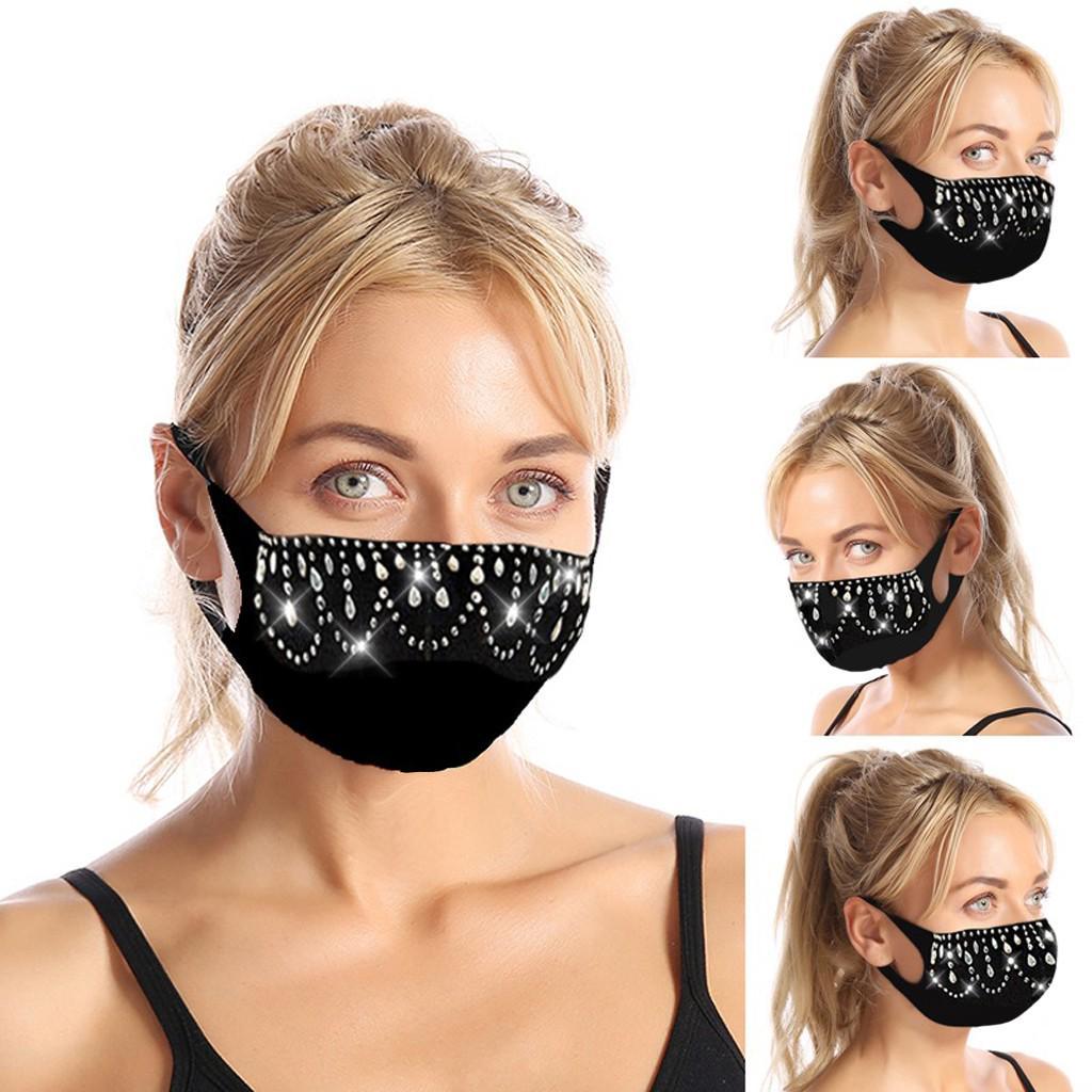 Maelove Новая аппликабельная дышащий рот маска Unisex защиты лица Маска многоразовые Washable – купить по низким ценам в интернет-магазине Joom