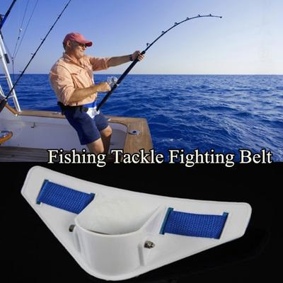 3 lot Belly Waist Prop Pole Waist Holder Lightweight Sea Boat Fishing EVA