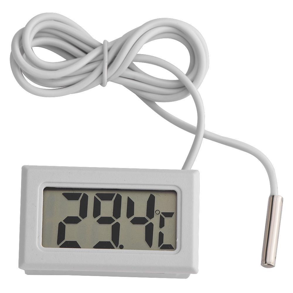 ukYukiko Practical Design Digital LCD Probe Fridge Freezer Indoor Thermometer Sensor