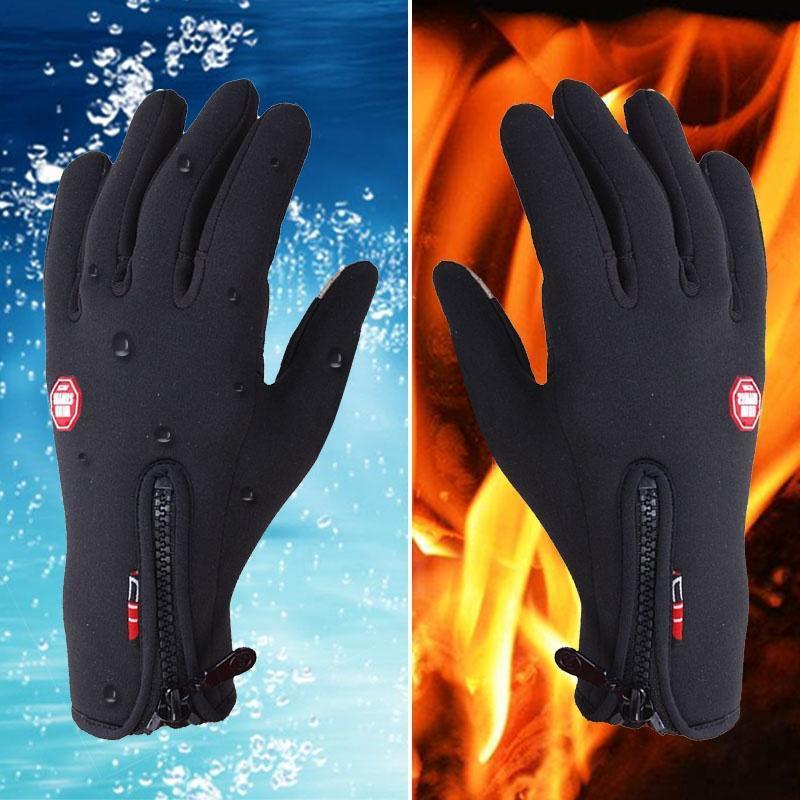 Фото - -30 Степень Зимние перчатки Теплый Ветер непроницаемые перчатки сенсорный экран перчатки спортивные перчатки перчатки aleksa aleksa mp002xg00ssq