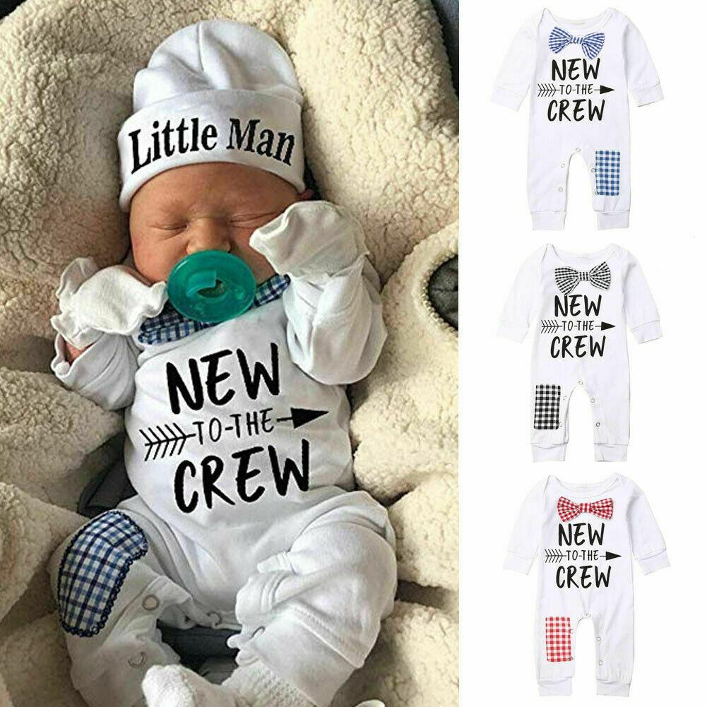 Baby Boys Cartoon Cute Deer Animal Print Cotton Romper Pants+Hat Clothing Sets