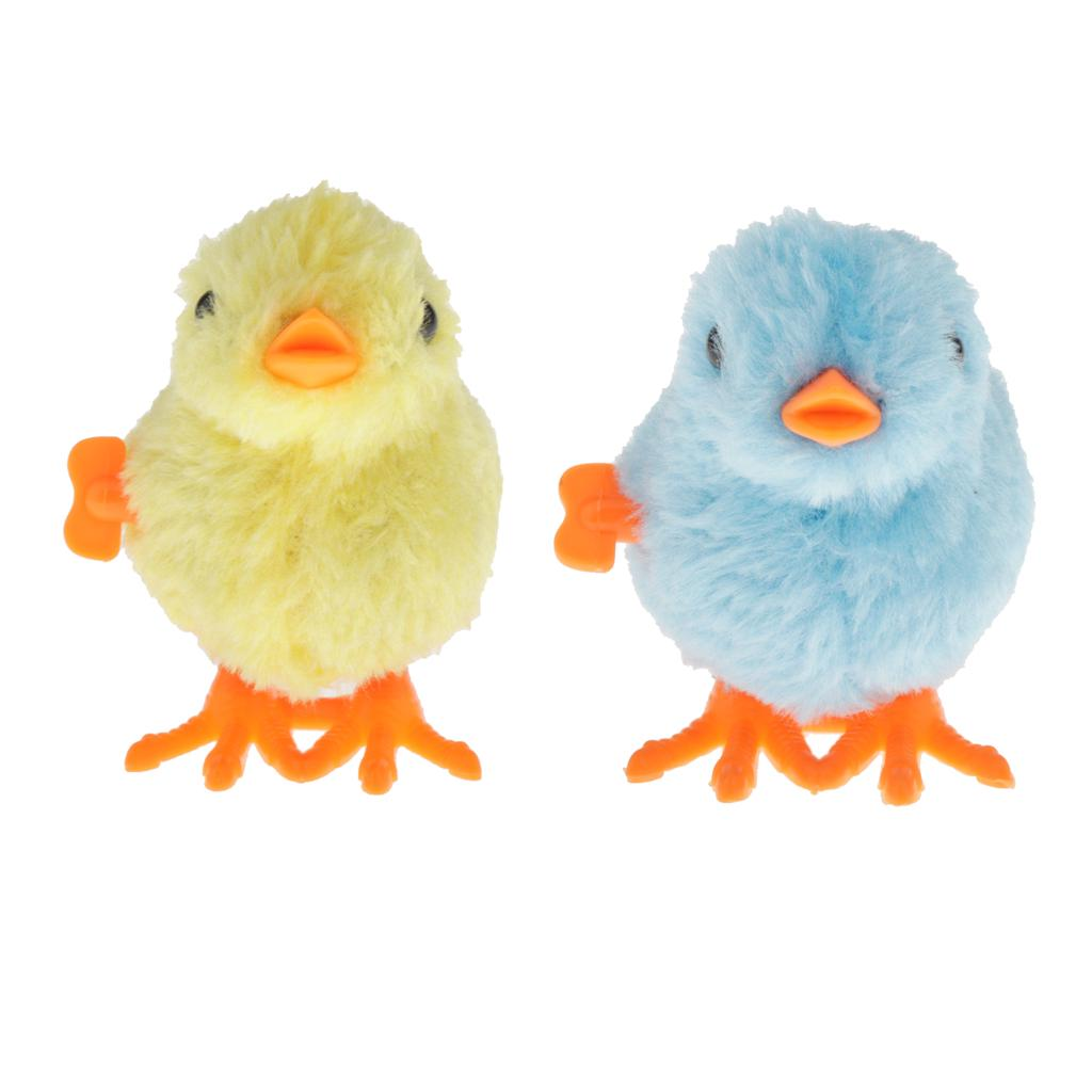Details about  /Cute Kids Clockwork Wind Up Jumpping Dance Chick Party Christmas Toys Gift