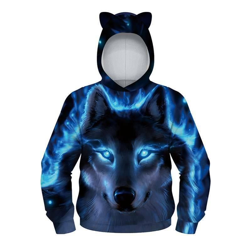 Anime Spice and Wolf 3D print Hoodie Men Women Casual Sweatshirt Pullovers Tops